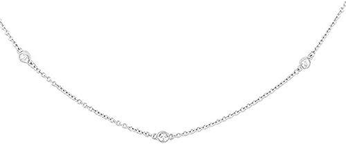ZJJLWL Co.,ltd Collar Collar Minimalista Collar con Colgante Redondo pequeño Collar geométrico Femenino Cadena K Collar Redondo Collar