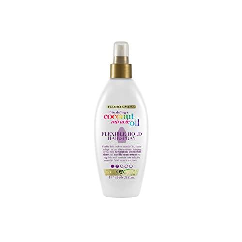 OGX Coconut Miracle Oil Hairspray Flexible Hold 177 ml