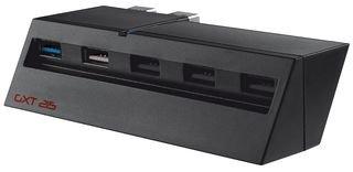 Trust Gaming GXT 215 - Hub USB para Playstation 4