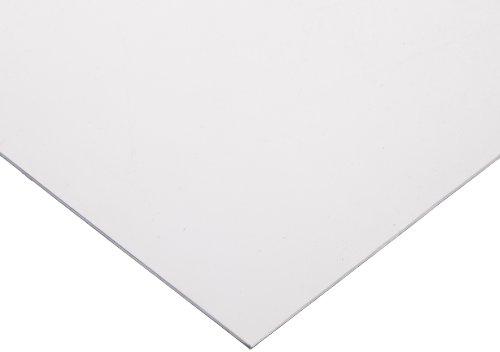 PVC (Polyvinyl Chloride) Shim Stock, Flat Sheet,  Clear, 0.040