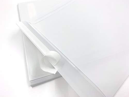 100 transparente Versandtaschen, C4 = 324 x 229 mm, Haftklebestreifen, 100 g/qm