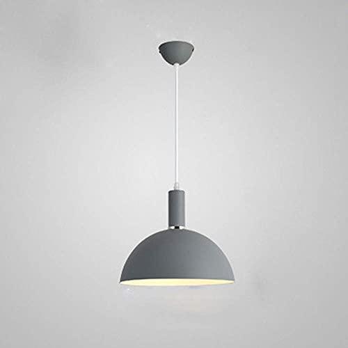 WEM Candelabro decorativo novedoso, luz colgante moderna Simplicity, pantalla de iluminación de techo industrial de metal, accesorios de iluminación de suspensión de enchufe E27 para restaurante, coc