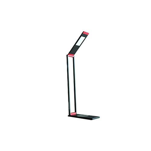 Helele LED bureaulamp metaal 3 helderheidsniveaus ultradun, oogvriendelijke led, USB-oplaadpoort, energiezuinig (2 stuks)