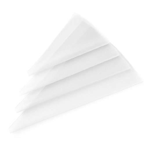 La torta de tubería Boquillas Tuberías bolsas, tuberías, boquillas bolsos de los pasteles, 4pcs para hornear los pasteles que adorna bolsas del conjunto de la categoría alimenticia de silicona EVA