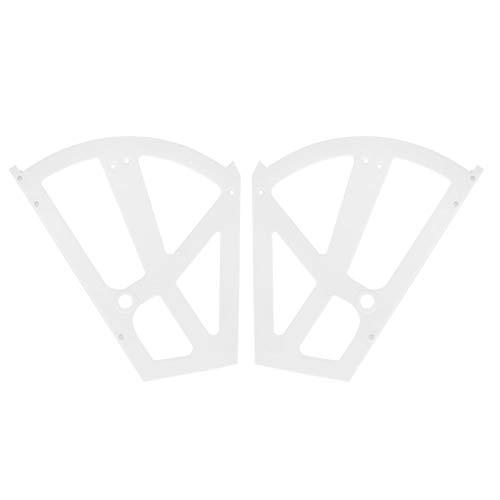 Omabeta ABS Bisagras Estante Estante Entrada Hueca Sala de Estar Gabinete Dormitorio(White)