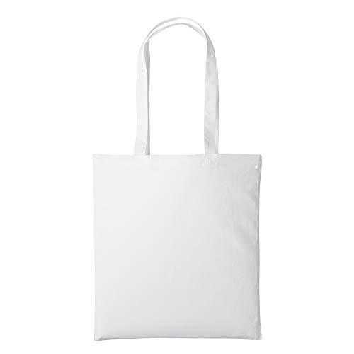 Nutshell Einkaufstasche/Henkeltasche (2 Stück/Packung) (Einheitsgröße) (Weiß)