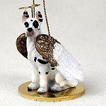 Great Dane Harlequin Pet Angel Ornament by Conversation Concepts