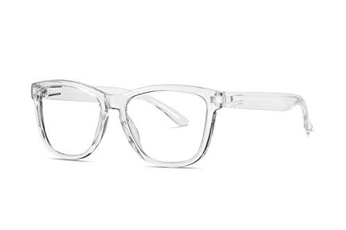 occhiali antiriflesso SKILEC Occhiali Anti Luce Blu Occhiali Antiriflesso Occhiali da Lettura Uomo Donna Antiaffaticamento Filtro Protezione UV - Occhiali per Computer