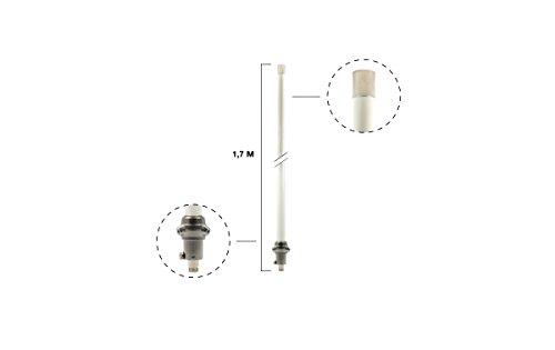 Diamond Original X-50 N Antenne Länge 1,7 m Zweiband 144/430 MHz - Stecker Nr.