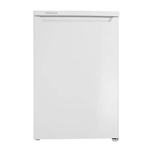 Hisense RL170D4AW2 - Frigorífico de una puerta reversible, Clasificación energética A++, despensa vertical en color Blanco, con 138 L de Capacidad