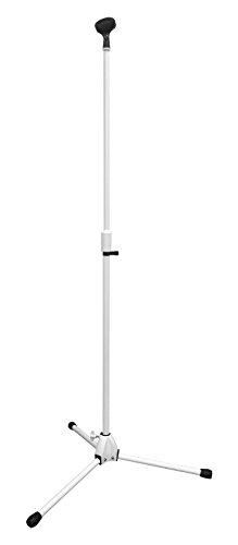 KC マイクスタンド ストレート MCS-4400/WH ホワイト (ソフトケース、マイクホルダー付)