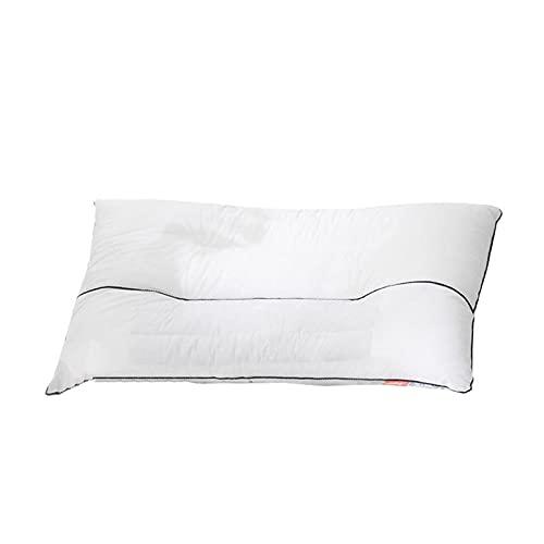WSZMD Almohada de cáscara de alforfón Protege la Columna Cervical para Ayudar a Dormir Almohada de cáscara de Trigo sarraceno para el hogar Halloween,48 * 74 * 10cm