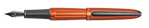 DIPLOMAT - Füllhalter Aero orange - Schick und elegant - Langlebig - 5-Jahre-Garantie - Orange