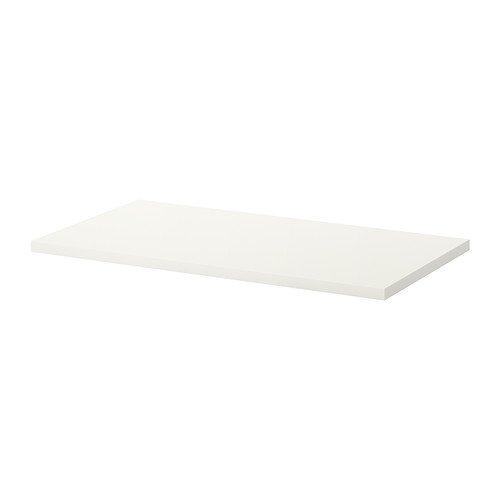IKEA LINNMON–Mesa, blanco–120x 60cm