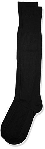 POMPEA Microfibra Calze al ginocchio, Grigio (Antracite 1 1291), 39/42 (Taglia produttore:S/M) (Pacco da 3) Uomo
