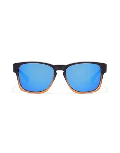 HAWKERS F18 Gafas de Sol, Negro/Rojo polarizado, One Size Unisex Adulto