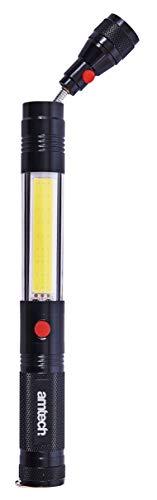 AM Tech 3 W COB travail LED et outil Pick Up, Aluminium, Noir, 3 watts