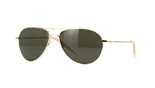 Oliver Peoples  BENEDICT OV1002S - 5035P1 Sunglasses Gold w /G-15 Polarized Lens