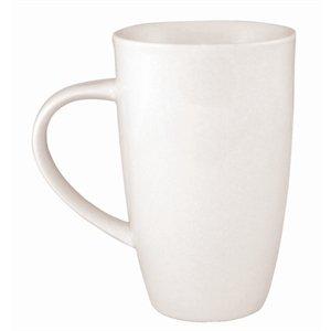 Olympia Whiteware Lot de 6 tasses à café en porcelaine 400 ml