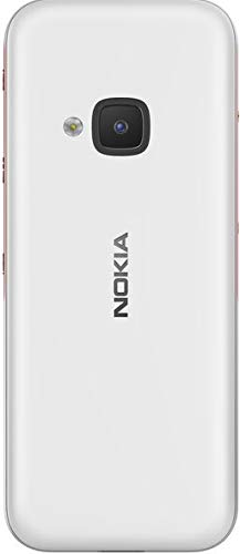 Nokia 5310 Dual SIM Feature Phone with MP3 Player, Wireless FM Radio and Rear Camera (White/Red)
