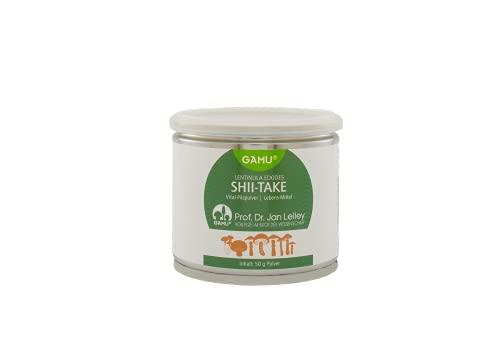 Bio Shiitake Pulver   Lentinula edodes   reich an Polysacchariden & Aminosäuren   Vital-Pilzpulver   50 g   Vegan