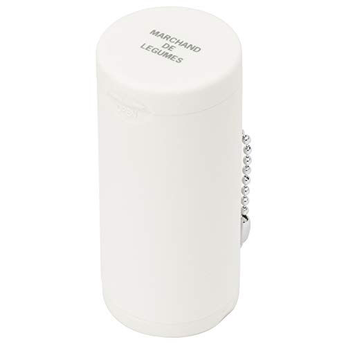 Dreams(ドリームズ) 携帯灰皿 ポケットアッシュトレイ ラバー ハニカム 6本収納 ホワイト MDL45092 直径3.5×高さ7.8cm