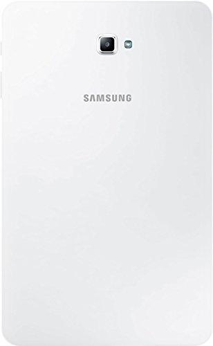 Samsung Galaxy Tab A (SM-T585NZWADBT) 25,54 cm (10,1 Zoll) LTE Tablet PC (Octa Core, 16 GB eMMC, 2 GB RAM, Android 6.0) weiß