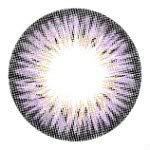 Kontaktlinsen de Farbe Fantaisie Jährlichen gültig 1 Jahr ohne Stärke NEU lila violett für die Augen dunkle auch Colors of the Wind blueberry yogurt(cow40)