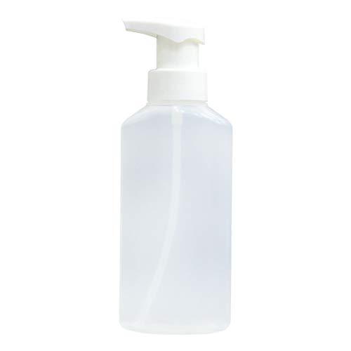 Ganquer Bouteille de voyage rechargeable avec pompe à bulles de mousse 200 ml, Pas de zéro, Transparent mat., Taille unique
