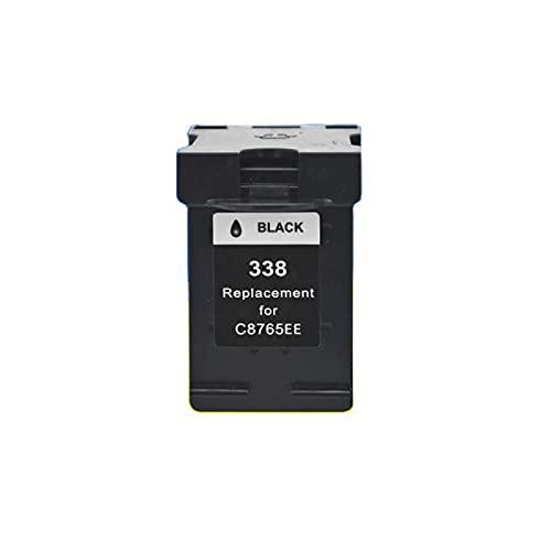 YXYX Compatible para HP 338 343 Reemplazo de Cartucho de tóner para HP DeskJet 460c 5740 5745 Impresora Láser Conductor de Tinta Tinta Cartucho de Tinta, Colores Vibrante Black