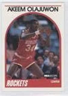 Hakeem Olajuwon (Basketball Card) 1989-90 NBA Hoops - [Base] #180