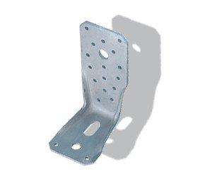 25 Stück Winkelverbinder mit Kantrippe KR und CE Kennzeichnung 135x65x4,0