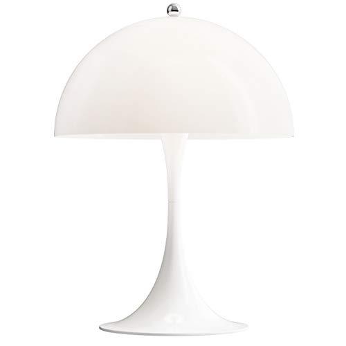 Panthella Mini Table Lamp, Louis Poulsen, Tischleuchte Entworfen von Verner Panton (Weiß Opal Acryl)