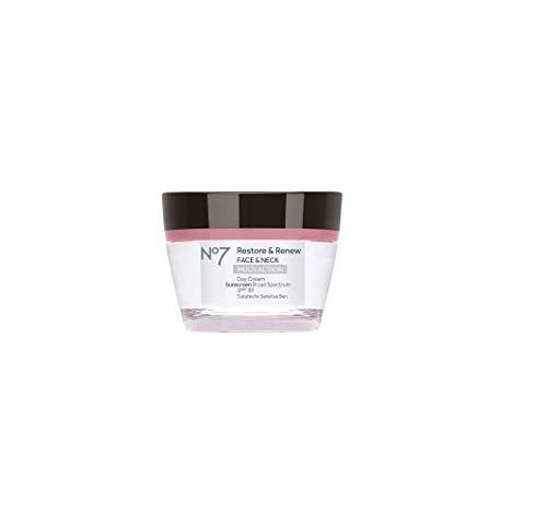 No7 Restore & Renew Face & Neck Multi Action Day Cream SPF 30 1.69oz