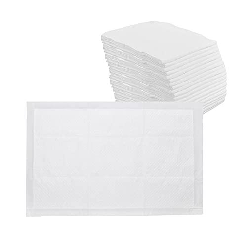 oshhni 20 Piezas Super Absorbente desechable Almohadillas de Cama para incontinencia sábanas para pañales para Adultos Fundas para cambiadores de bebé