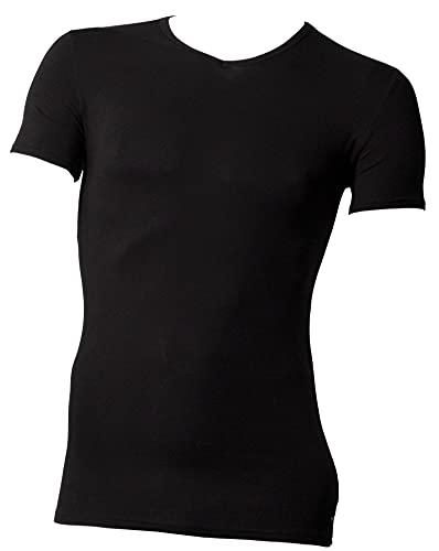 Tommy Hilfiger Vn tee SS 3 Pack Premium Essentials Camiseta, Negro 990, XL (Pack de 3) para Hombre