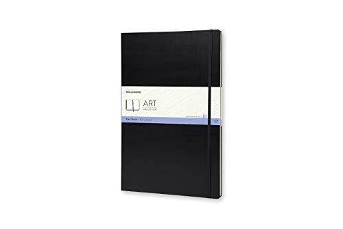 Moleskine Art Sketchbook, Hard Cover, A3 (11.75' x 16.5') Plain/Blank, Black, 96 Pages