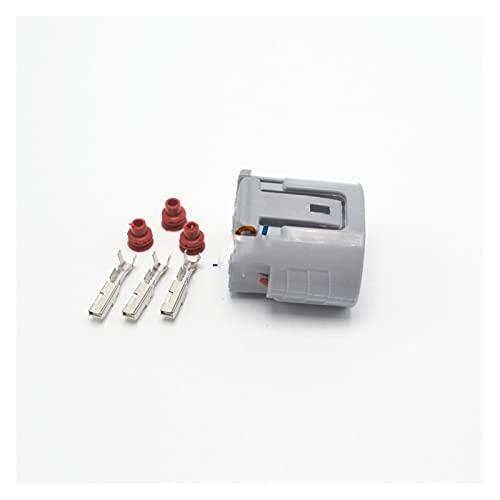 Sky City 5 Sätze 3Pin-Automobilverbinder Generator-BLEI-Reparatur. Fit für Mitsubishi Oval Harness Auto-Anschlüsse 6189-0443 (Package : 2 Sets)