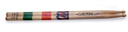 Hotsticks Artisticks paar drumstick van hout 5A (met Ierse vlag)