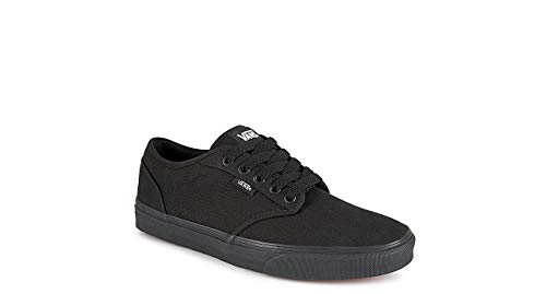 Vans Men's Atwood Low-Top Sneakers Shoes (8.5) Black
