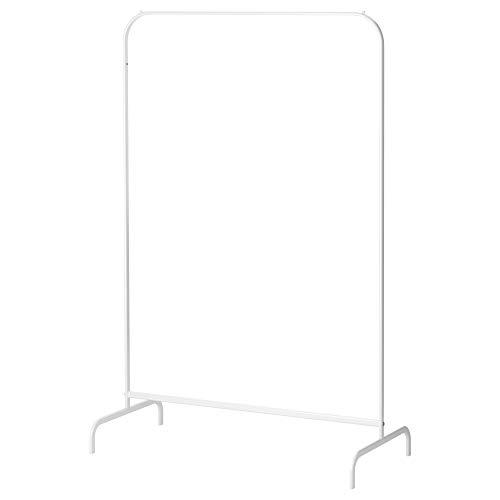 IKEA Mulig - Perchero para ropa, 99 x 46 cm, fácil de montar, fácil de mover y fácil de instalar, color blanco