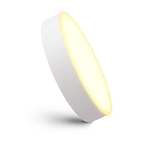 linovum paniled Aufbauspot LED flach & klein mit warmweißem & randlosem Licht - 6 Watt 230 Volt - Deckenspot Aufbau 90x26 mm