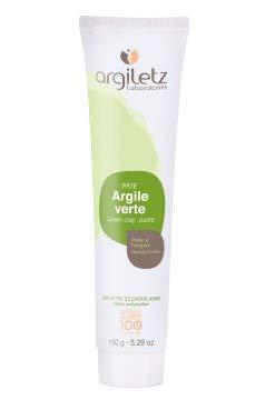 ARGILETZ Lot de 2 tubes de 150g d'argile verte en pâte prête à l'emploi distribué par ARCILIA