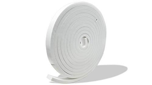 プランプ オリジナル 隙間テープ スキマッチ 白 ホワイト 厚 8 mm × 幅 20 mm × 長 2 m 2個入(合計4m) 日本製 ゴムスポンジ 防水 防音 すきま 窓 玄関 引き戸 隙間