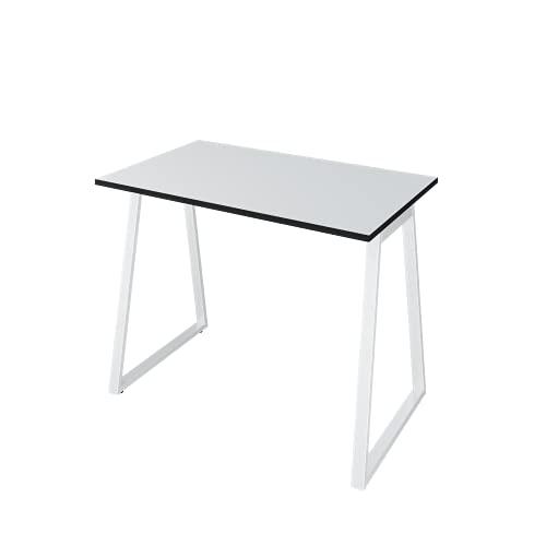 LEVIRA – Mesa de Oficina, Escritório, Leith - 100 x 74 - Blanco y Negro