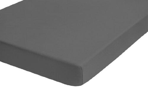 biberna 0077641 Jersey-Elastic Topper Spannbetttuch (Topperhöhe 8-12 cm) (Baumwolle/Elasthan) 180x200 cm -> 200x220 cm, rost