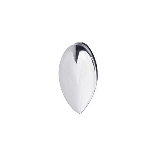ICED OUT Single 14x7mm Grill - Eckzahn Zahnaufsatz Silber