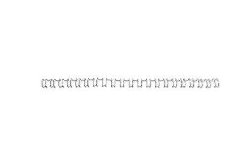 GBC Spirali per Rilegatura MultiBind, 8 mm, 70 Fogli di Capacità, A4, Argento, Confezione da 100, IB160639