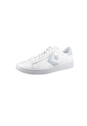 Converse Chucks 555932C Weiss Star Player LP OX Leder Weiss White Porpoise White, Groesse:39 EU / 6 UK / 8 US