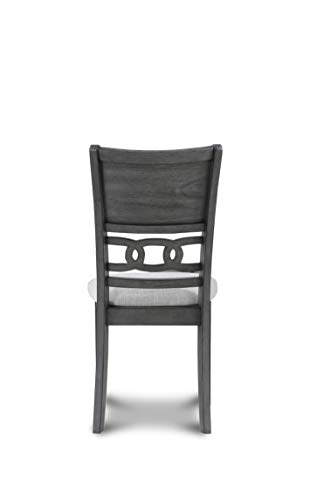 New Classic FURNITURE Gia Round Dining Set, 47